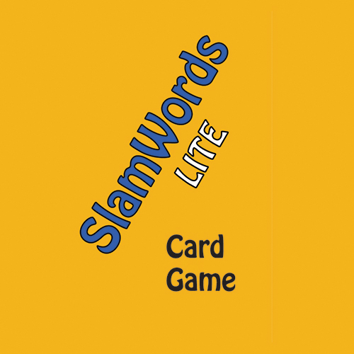 SlamWords Lite card game